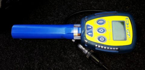 Detector de gás multifuncional
