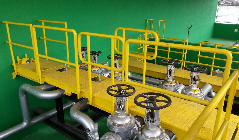 Varejo – Instalações de rede de gás natural industrial e predial