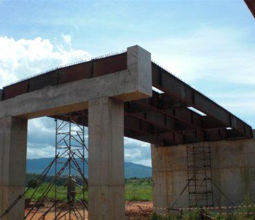 Infraestrutura – Construção de pontes metálicas – Angola