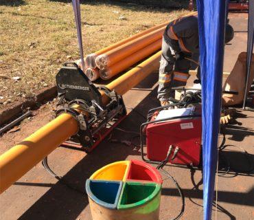 Gás Brasiliano – Construção de rede de gás natural