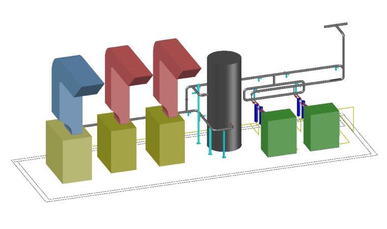 Termomecânica – Projeto e instalação de rede de ar comprimido